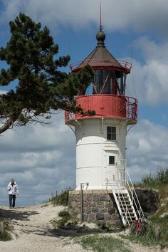 Hiddense lighthouse - Baltic Sea - Germany