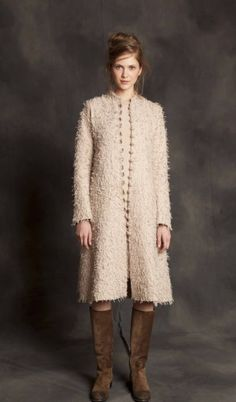 "Alabama Chanin ""Fur"" coat."