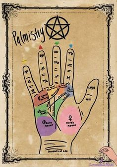lavendulamoon — Palmistry guide, reading the lines on hands are... Witch Spell Book, Witchcraft Spell Books, Magick Spells, Green Witchcraft, Wiccan Magic, Wiccan Witch, Grimoire Book, Wiccan Symbols, Eclectic Witch