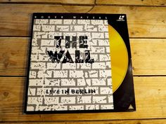 The Wall Live in Berlin LD PAL Laserdisc EX cover EX COLLECTOR ORIGINAL 1990