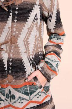 Navajo blanket duffl