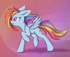 Dashie by Dusthiel on DeviantArt My Little Pony List, My Little Pony Friendship, Rainbow Dash, Imagenes My Little Pony, Mlp Pony, Pony Pony, Mlp Characters, Mlp Fan Art, Pony Drawing