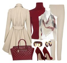 """Christmas outfit.... Love it! Ho Ho Ho!"" by ohluckyme on Polyvore featuring Dsquared2, Joseph, Michael Kors, Burberry, Nouvelle Bague and Gianvito Rossi"