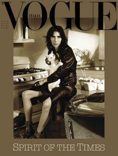 Jamie Bochert Throughout the Years in Vogue