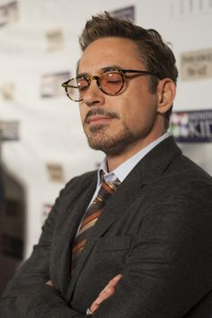 Robert Downey Jr.  Probably listening and basking to the sound of his fan base.