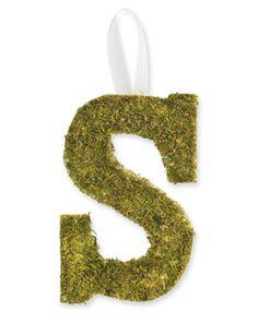 Peel N' Stick Moss #Monogram