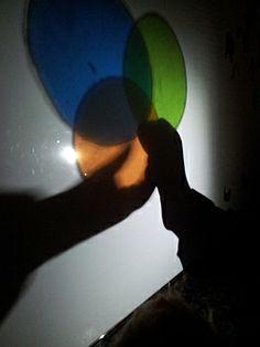 Llanternes, filtres de colors, trames i miralls al passadís. Aprenent a fer la rateta.