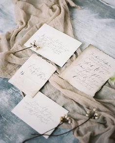 Organic wedding suite with earthy tones | Calligraphy by Wildfield Paper Co | Photography by Michelle White