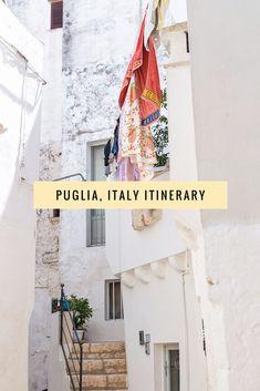 The perfect Puglia road trip itinerary, including Polignano a Mare, Alberobello, Gallipoli, Ostuni, Locorotondo and more!