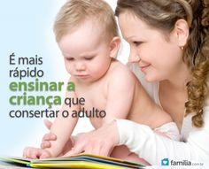 Familia.com.br | 5 maneiras para estimular a inteligência do seu bebê #Estimulo #Bebe