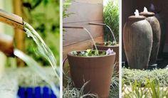 Alma lavada: faça uma fonte d´água em casa - VilaClub