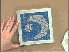 Passo a Passo  Mosaico Pinctore Tigre