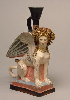 """Libertasさんのツイート: """"Amazing that the original polychrome Amazing that the original polychrome seems untouched by time!   Lekythos w/ the shape of a Sphinx-Greek-Early 5th c. BC @state_hermitageseems untouched by time! Lekythos w/ the shape of a Sphinx-Greek-Early 5th c. BC @state_hermitage https://t.co/1Ki2AyUAEi"""""""