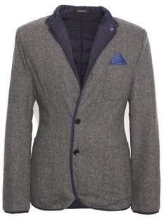 Scotch & Soda Quilted Wool Blazer