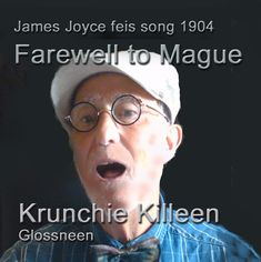 Song sung by James Joyce at Feis Ceoil 1904. Joyce forfeited his chance of a gold medal, and a career as professional singer, by walking off the stage rather than humiliate himself by a poor performance of sight-reading James Joyce, Singing, Stage, Career, Walking, Album, Reading, Gold, Art