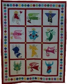 Angels quilt- love this