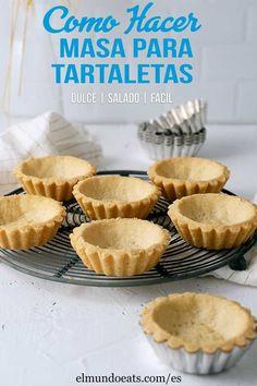 Pastry Recipes, Tart Recipes, Sweet Recipes, Baking Recipes, Dessert Recipes, How To Make Tart, Mini Tart Shells, Recipe For Tart Shells, Mini Fruit Tarts