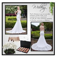 """Mubridal-Wedding Dresses #12"" by irmica-831 ❤ liked on Polyvore featuring Allstate Floral"