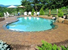 What Better Place To Take In The Mountain Views Than This Gorgeous  In Ground Pool