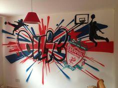 Kids Bedroom Graffiti Idea Graffiti Wall Design Pinterest