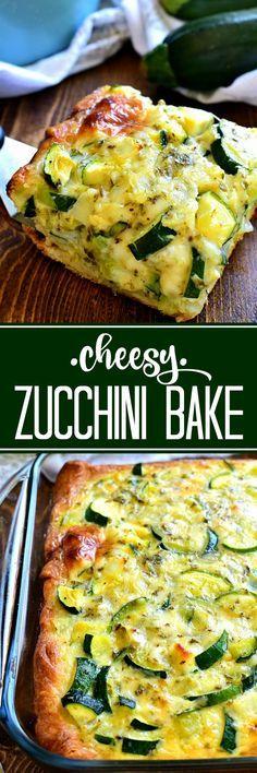 This cheesy Zucchini