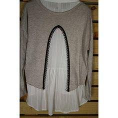 Jersey cachemire y camisa de Nekane