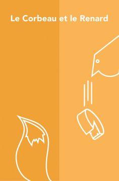 Affiche Le Corbeau et le Renard