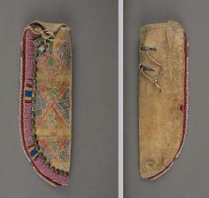 Crow knife case. Portland Art Mus.