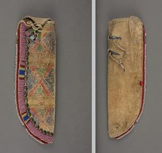 Crow knife case. Portland Art Mus.