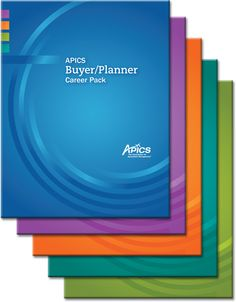 Download your APICS Career Packs: Buyer/Planner, Distribution and Logistics Manager, Supply Chain Manager, Master Scheduling Manager, and Materials Manager