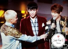 160120 Seungri, T.O.P and Daesung at the 30th Golden Disc Awards