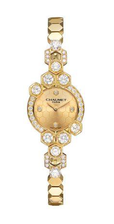 Relógio, coleção Bee My Love, ouro amarelo e diamantes, Chaumet