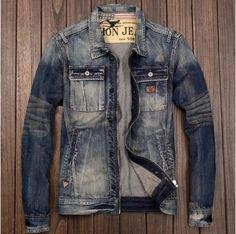 Slim Fit Mens Jeans, Denim Shirt Men, Man Jeans, Suit Fashion, Denim Fashion, Stylish Mens Outfits, Style Retro, Trousers Women, Vintage Denim
