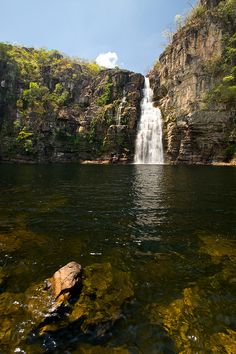 Chapada dos Veadeiros National Park I, Alto Paraíso de Goiás  by Visit Brasil, via Flickr