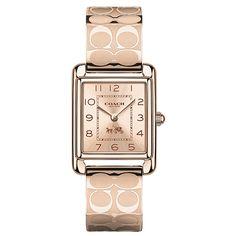 1686934f207 Relógio feminino Coach com pulseira em aço rosé - 14502161 Relógio  Feminino