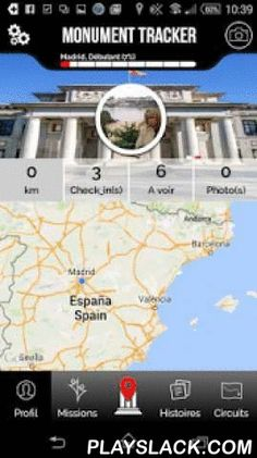 Madrid Guide Monument Tracker  Android App - playslack.com ,  Visit Madrid differently: quizzes, tours, monuments alerts, sharing picturesSmall revolution for this update!Discover the new version of the tourist guide Monument Tracker: Global Redesign of the application in graphics and features, if you want to know what to do and what to see in Madrid during your weekend tour or journey, Download now our free application !When to visit rhymes with fun. Discover Madrid fun and cultural way…