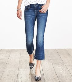Under+$100:+9+Essential+Pieces+Every+Celeb+Owns+via+@WhoWhatWear Banana Republic Cropped Flare Jean