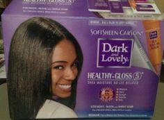 Dark & Lovely Healthy Gloss Relaxer Review