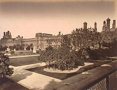 Palace of the Tuileries., Siege of Paris, Special Collections, Northwestern University Library