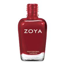 Zoya Fall/Winter collection 2012 Nail Polish | Rekha ..... Rekha can be best described as: Bold medium blood red with a glossy cream finish. A custom runway shade created for fashion designer Bibhu Mohapatra.