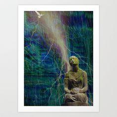 Angel 24 Art Print by Richard J Wise - $17.68