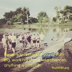 Beautiful quote from @RunWiki.org.org