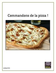 This product includes 2 pages of French vocabulary to help your students in ordering all types of pizza.  I have included a renseignements page which includes popular pizzas in France and the origins and traditional varieties of some.  I have also included the web link to Flams restaurant in Paris, France which specializes in pizza from the Alsace region of France.