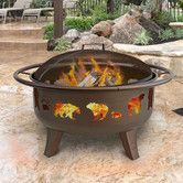Found it at Wayfair - Patio Lights Firedance Bear & Paw Wood Burning Fire Pit 36""