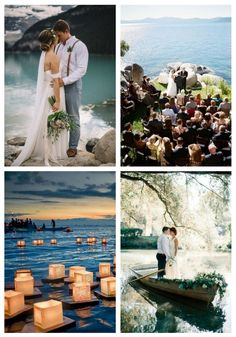 72 Gorgeous And Relaxed Lake Wedding Ideas #gorgeous #relaxed #lake #wedding #ideas