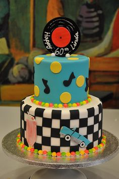 50's themed cake by Designer Cakes By April, via Flickr