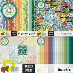 Collections :: Coordinated Collections :: Garden Party :: Garden Party by Berna's Playground - collection