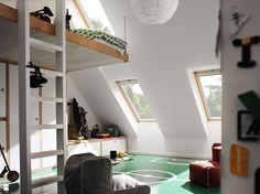Pokój dziecka styl Skandynawski - zdjęcie od VELUX - Pokój dziecka - Styl Skandynawski - VELUX