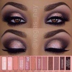 Naked 3 palette tutorial!! OMG love this :))