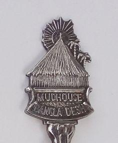 Collector Souvenir Spoon Bangladesh Mudhouse